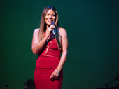 Merle Dandridge, who has appeared in both Tarzan and Aida on Broadway, is radiant in red.(Photo: Monica Simoes)