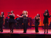 Broadway powerhouses Ramona Keller, Tamika Lawrence, Kissy Simmons and Rema Webb join The Lion King star Syndee Winters onstage.(Photo: Monica Simoes)