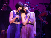 No chance, no way: we have to say we're in love with this photo. Susan Egan offered her voice to the character of Meg in the original Hercules film, and Krysta Rodriguez brought the role to life on the Delacorte Theatre stage this summer in the Public Works production.(Photo: Evan Zimmerman)