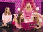 Danielle Wade, Megan Masako Haley, Mariah Rose Faith & Jonalyn Saxer in the touring production of Mean Girls, photo by Joan Marcus