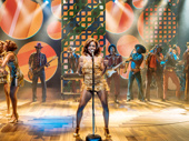 Adrienne Warren as Tina Turner in Tina: The Tina Turner Musical.