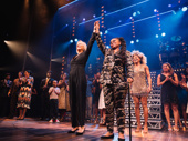 Tina director Phyllida Lloyd and scribe Katori Hall take a bow.
