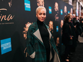 Broadway alum Cush Jumbo steps out.
