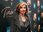 Two-time Tony winner Christine Baranski is on the scene.