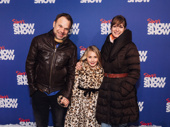 Two-time Tony winner Norbert Leo Butz attends opening night of Slava's Snowshow with his wife and fellow performer Michelle Federer and their daughter Georgia Teresa Butz.