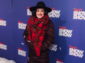 Broadway alum Christine Dwyer is suited up for the snow!