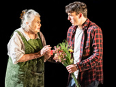 Lois Smith and Samuel H. Levine in The Inheritance.