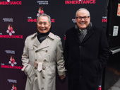 George Takei and Brad Altman step out for opening night of The Inheritance.