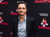 Stage and screen star Tony Goldwyn enjoys opening night of The Inheritance.