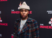 Emmy-winning scribe Lena Waithe bundles up for the Broadway opening of The Inheritance.