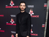 Broadway alum Adam Kantor visits his The Band's Visit stomping grounds at the Barrymore Theatre for opening night of The Inheritance.