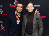 Tony-winning choreographer Sergio Trujillo steps out with his husband Jack Noseworthy.