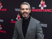 Watch What Happens Live host Andy Cohen steps out to support his pal John Benjamin Hickey on opening night of The Inheritance.