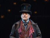 Campbell Scott as Ebenezer Scrooge in A Christmas Carol.