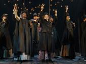 The cast of A Christmas Carol.