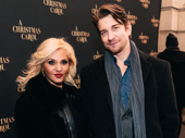 Broadway couple Orfeh and Andy Karl have a date night out.