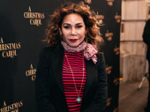 Tony winner Daphne Rubin-Vega steps out to support the show.