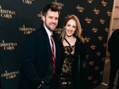 Upcoming The Minutes starJessie Mueller steps out with beau Andy Truschinski.
