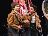 Jai Ram Srinivasan and Sebastian Ortiz share the role of Tiny Tim.