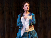 Meghan Picerno as Christine in The Phantom of the Opera.