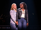 Elizabeth Stanley as Mary Jane and Celia Rose Gooding as Frankie in Jagged Little Pill.