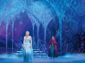 Caroline Bowman & Caroline Innerbichler in the touring production of Disney's Frozen, photo by Deen van Meer