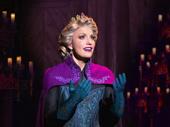 Caroline Bowman in the touring production of Disney's Frozen, photo by Deen van Meer