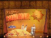 F. Michael Haynie in the touring production of Disney's Frozen, photo by Deen van Meer