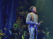 Mason Reeves in the touring production of Disney's Frozen, photo by Deen van Meer