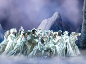The company of the touring production of Disney's Frozen, photo by Deen van Meer