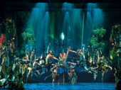 Caroline Innerbichler, Mason Reeves & the company of the touring production of Disney's Frozen, photo by Deen van Meer