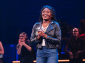 Celia Rose Gooding takes her Broadway debut bow.