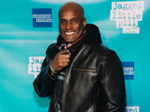 Upcoming A Soldier's Play director Kenny Leon steps out for the night.