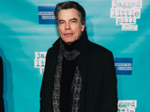 Screen star Peter Gallagher supports his daughter, Jagged Little Pill's Kathryn Gallagher.