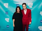 Alanis Morissette with Tony winner Ben Platt.