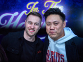Choreographer Chris Scott joins director Jon M. Chu for a photo.