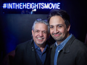 Lin-Manuel Miranda beams with his father Luis Miranda.