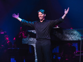 Harry Connick Jr. receives his applause from the opening night crowd.