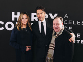 Harry Connick Jr. smiles with his wife, singer Jill Goodacre, and theater owner James Nederlander.