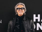 Ten-time Tony winner Tommy Tune poses on the red carpet outside the Nederlander Theatre.