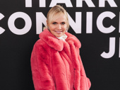 Kristen Chenoweth is all smiles on the red carpet.