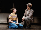 Taylor Trensch and Russell Harvard in To Kill a Mockingbird.