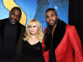 Idris Elba, Rebel Wilson and Jason Derulo, play Macavity, Jennyanydots and Rum Tum Tugger, respectively, in Cats.