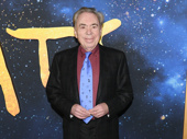 Cats creator Andrew Lloyd Webber attends the world premiere of the film.
