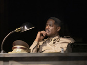 Blair Underwood as Captain Richard Davenport in A Soldier's Play.