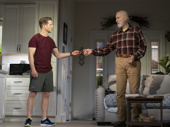 Ben McKenzie as Ben and James Cromwell as Bill in Grand Horizons.