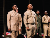 Blair Underwood bows with David Alan Grier, who appeared in the play's original 1981 production, as well as the 1984 movie adaptation.