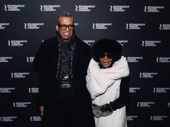 Designer B Michael and Oscar, Emmy and Tony winner Cicely Tyson.