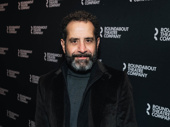 Tony Shalhoub, hot off his SAG Award win, attended the opening.