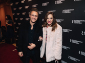 Roundabout alum Laura Osnes attends with husband Nathan Johnson.